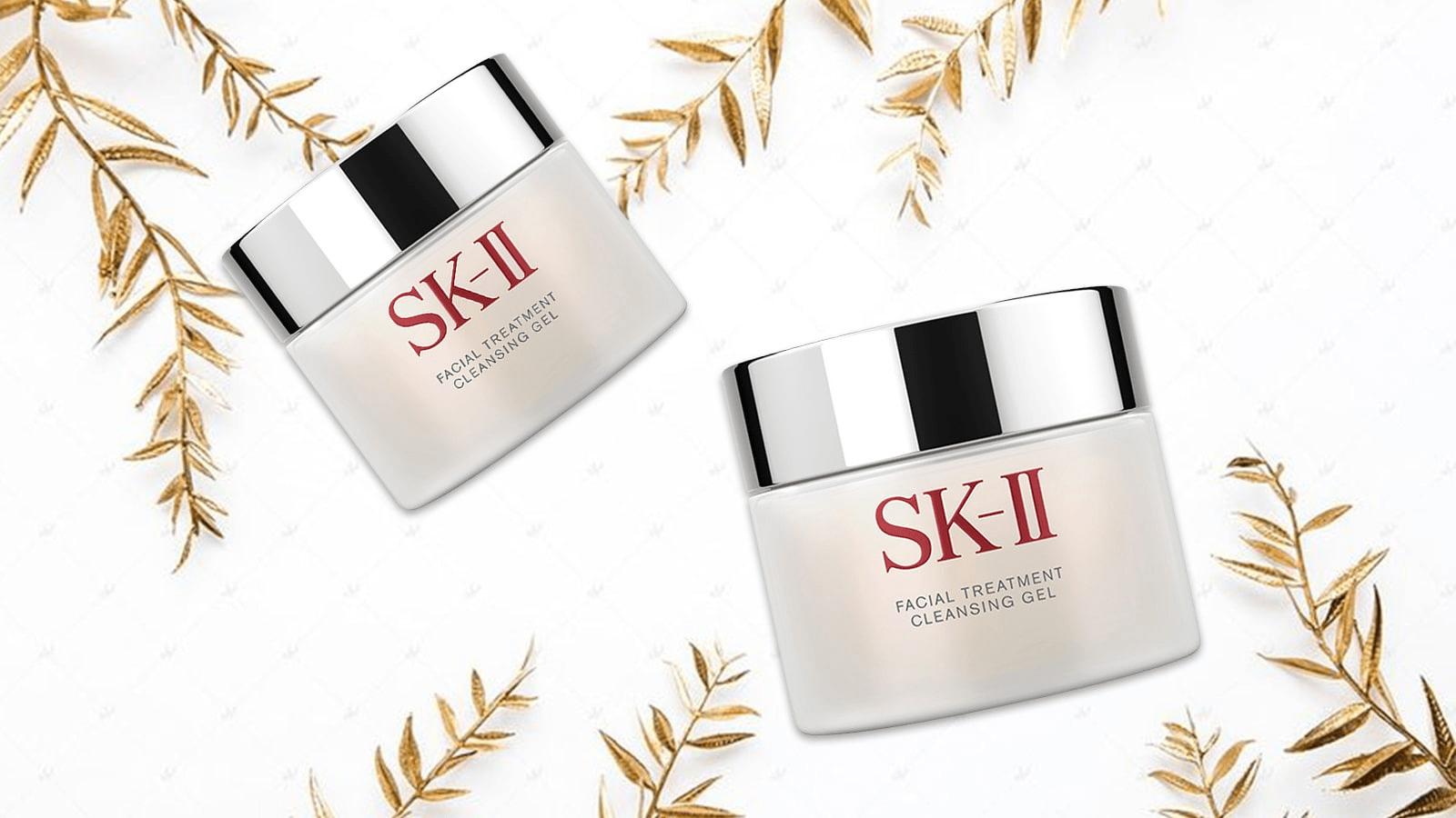 Giữ sạch làn da với Gel tẩy trang SK-II Facial Treatment Cleansing Gel 80g