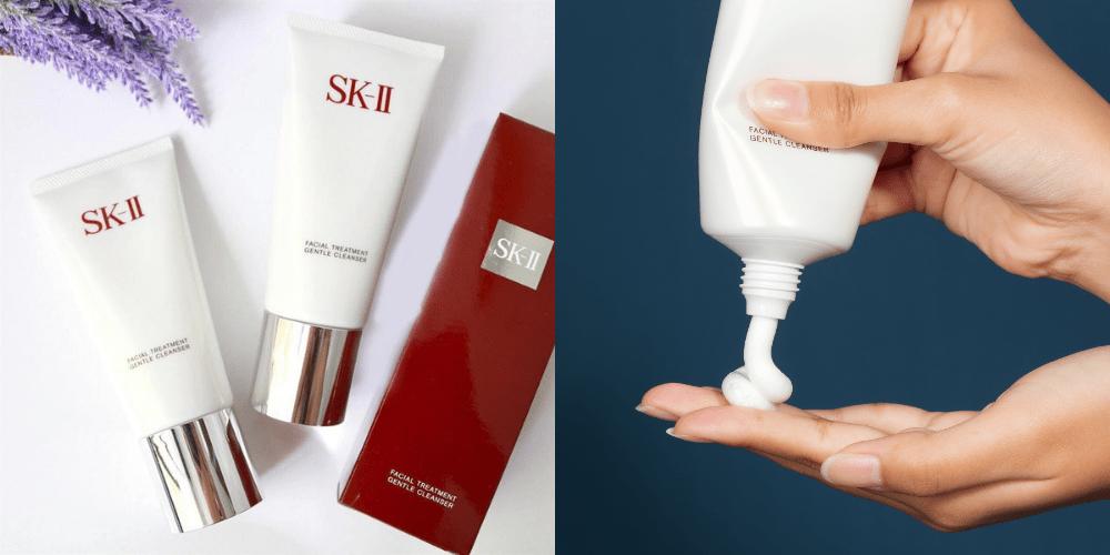 Đôi điều về sữa rửa mặt thần kỳ SK-II Facial Treatment Gentle Cleanser 120g