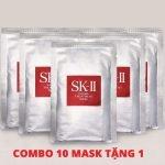 Combo 10 Mặt Nạ Dưỡng Ẩm Sáng Da SK-II Facial Treatment Mask