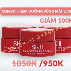Combo 3 Kem Mắt SK-II R.N.A Power Eye Cream Radical New Age 2.5g