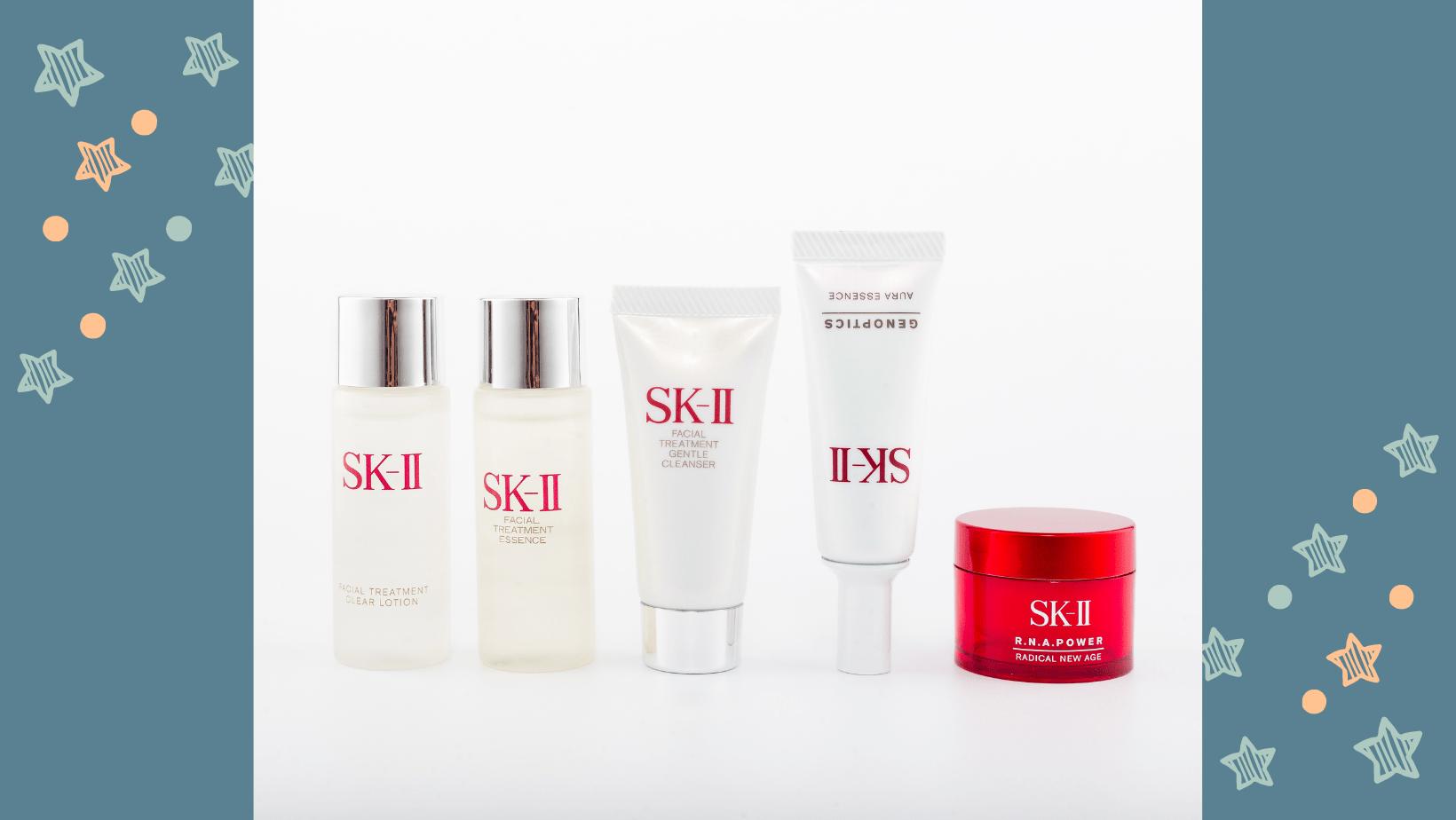 Cách sử dụng skii mini set 5 món chăm sóc da dưỡng ẩm