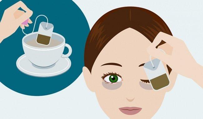 dung loai tra tui loc nao khi mat sung tham dau hay kho11521174030 - 8 cách làm giảm nếp nhăn ở mắt 5 phút cực hay