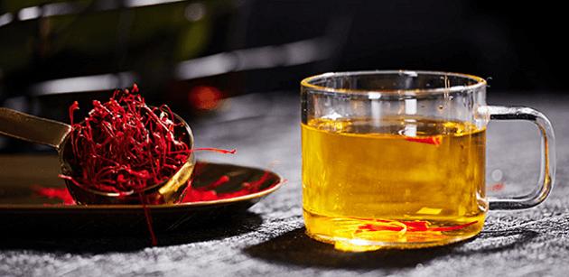 tra saffron - Cách nhận biết nhụy hoa nghệ tây hàng chất lượng và kém chất lượng