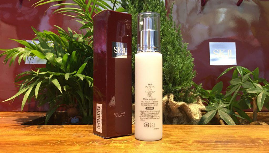 lift2 1024x584 - Sữa Dưỡng Nâng Cơ Se Khít Lỗ Chân Lông SK-II Facial Lift Emulsion 100g